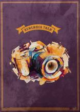 Fotoalbum 10x15 pro 300 fotografií  Modern Camera oranžový