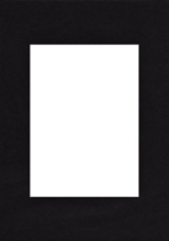 Pasparta 13x18 / 9x13 černá