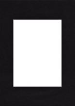 Pasparta 20x30/13x18 černá