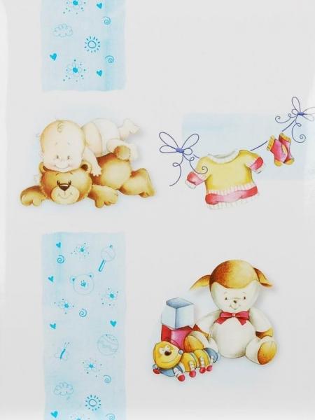 SAMOLEPÍCÍ album 40 stran -Sweet toys modré