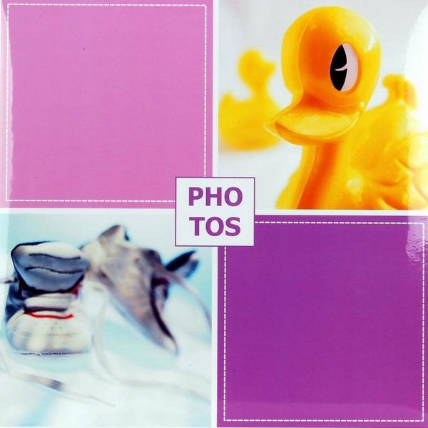 SAMOLEPÍCÍ album 40 stran - Baby Box růžové