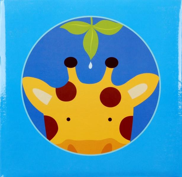 Album pro 200 fotek 10x15 Jungle modré