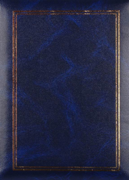 SAMOLEPÍCÍ album 60 stran - Vinyl modrý