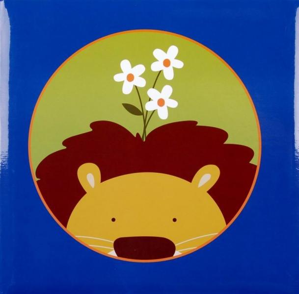 Album klasické dětské 100 stran - Jungle Lion modrý
