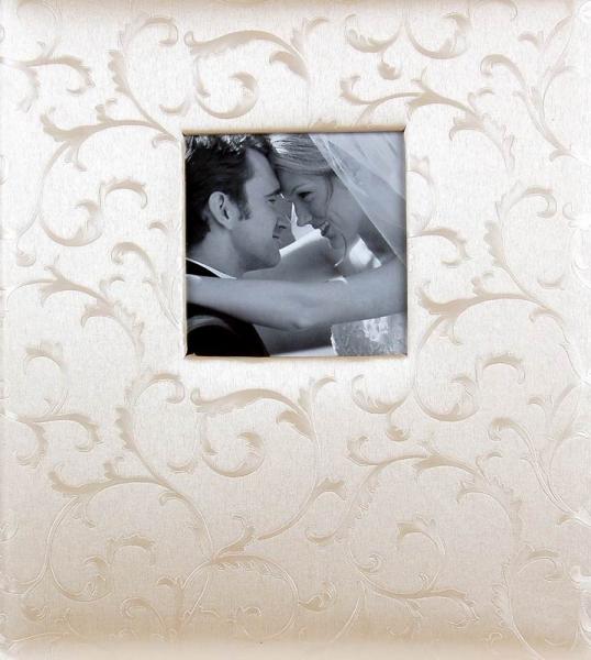 Svatební fotoalbum 60 stran Satin zlatý