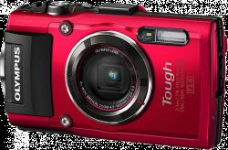 Olympus TOUGH TG-4 Stylus red + karta 16GB