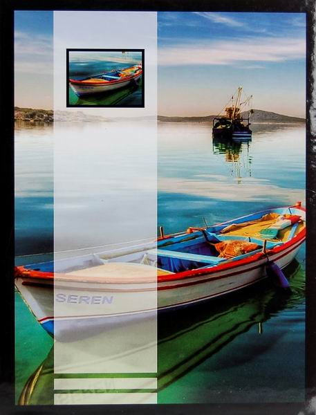 SAMOLEPÍCÍ album 40 stran - Boat 1