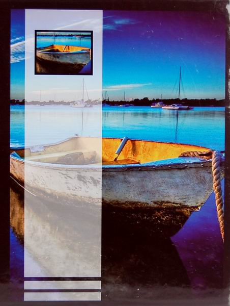 SAMOLEPÍCÍ album 40 stran - Boat 2