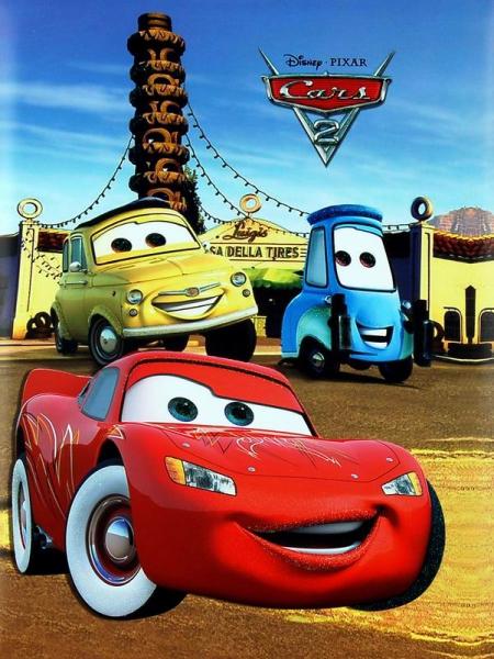 SAMOLEPÍCÍ album 20 stran - Disney car