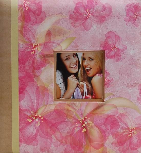 Album pro 200 fotek 10x15 K1994 růžové