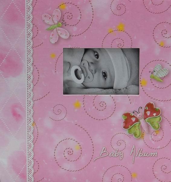 Album pro 200 fotek 10x15 Tender růžové
