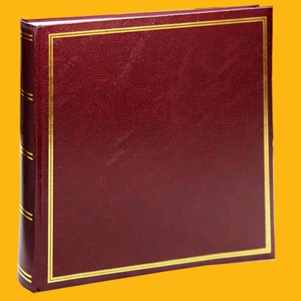 Klasické fotoalbum 100 stran hnědé