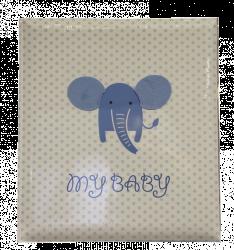 Album dětské 60 stran - baby Elephant modré