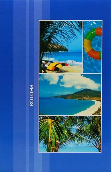 Fotoalbum 9x13 pro 300 fotografií Destination modrý