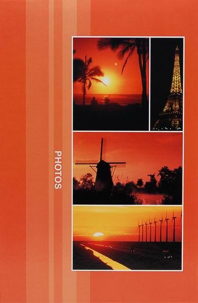 Fotoalbum 9x13 pro 300 fotografií Destination červené