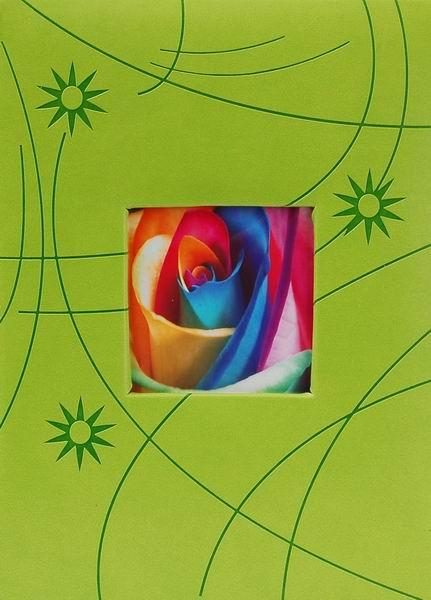 Album pro 300 fotek 10x15 Colorful zelené