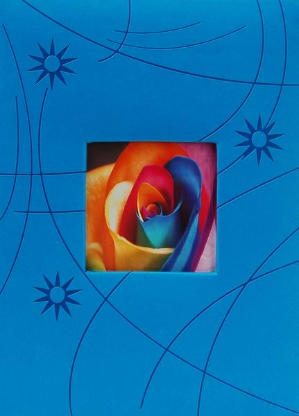 Album pro 300 fotek 10x15 Colorful modré