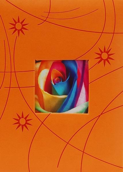 Album pro 300 fotek 10x15 Colorful oranžové