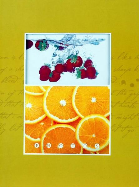 SAMOLEPÍCÍ album 20 stran Fruity žluté