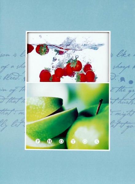 SAMOLEPÍCÍ album 20 stran Fruity modré