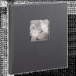 Klasické fotoalbum 50 stran Fine Art šedé
