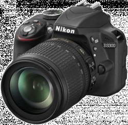 Nikon D3300 + 18-105 VR black digitální zrcadlovka