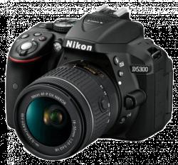 Nikon D5300 + AF-P 18-55 VR black digitální zrcadlovka