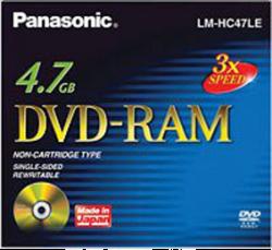 Panasonic LM-HC47LE DVD-RAM