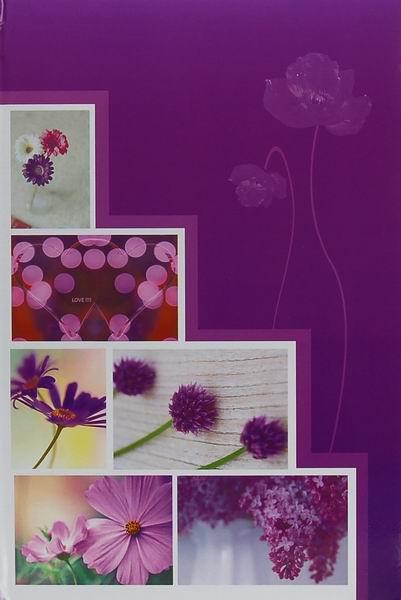 Fotoalbum 10x15 pro 300 fotografií Pastel Vase 2 purple
