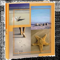 Klasické fotoalbum 60 stran Sea Shells béžové