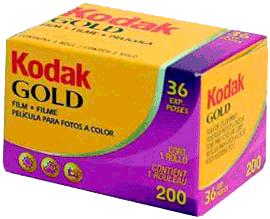 Kodak Gold 200/135-36 - 10ks