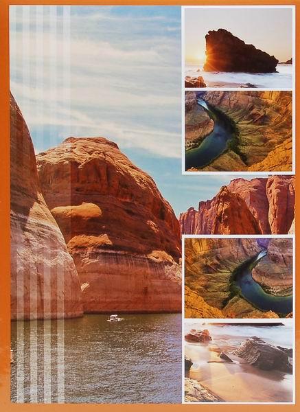 Fotoalbum 10x15 pro 300 fotografií Survay hnědý