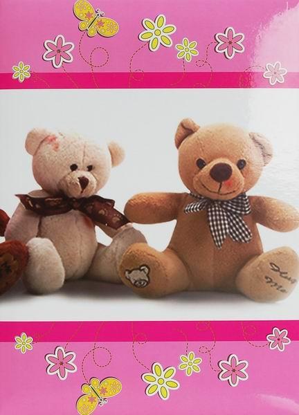 Album dětské 10x15 pro 200 fotek lepené -Candy růžové
