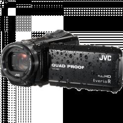 JVC GZ R415D FULL HD VODOTĚSNÁ KAMERA černá