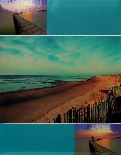 SAMOLEPÍCÍ album 60 stran - Beach tyrkys