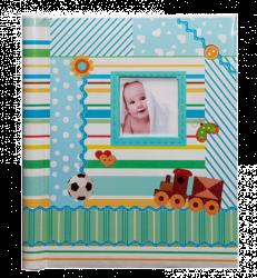 SAMOLEPÍCÍ album 40 stran - Toddler modrý