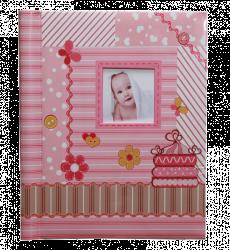 SAMOLEPÍCÍ album 40 stran - Toddler růžový