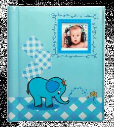 SAMOLEPÍCÍ album 60 stran Little One modrý