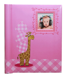 SAMOLEPÍCÍ album 60 stran Little One růžový
