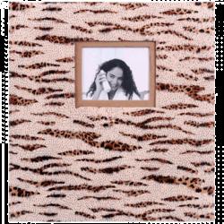 Klasické fotoalbum 60 stran SAFARI světlé