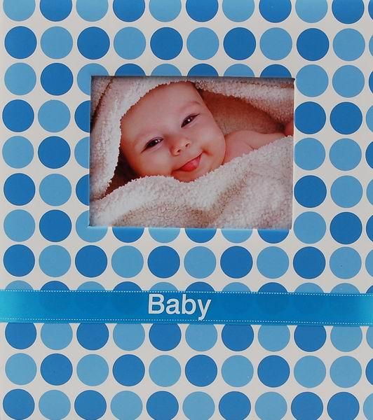 Album dětské 100 stran MAXI BAMBINO modré