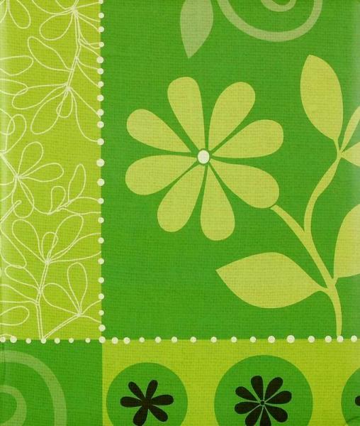 Klasické fotoalbum 100 stran Flower festival zelené