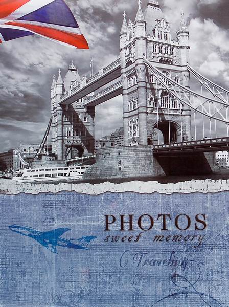 SAMOLEPÍCÍ album 40 stran London 1