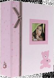 Album dětské 10x15 pro 304 fotek Plush růžové