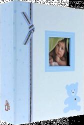 Album dětské 10x15 pro 304 fotek Plush modré