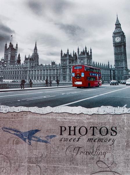 SAMOLEPÍCÍ album 40 stran London 2