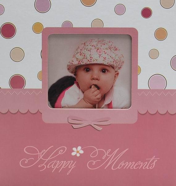 Album pro 200 fotek 10x15 Nipper růžový