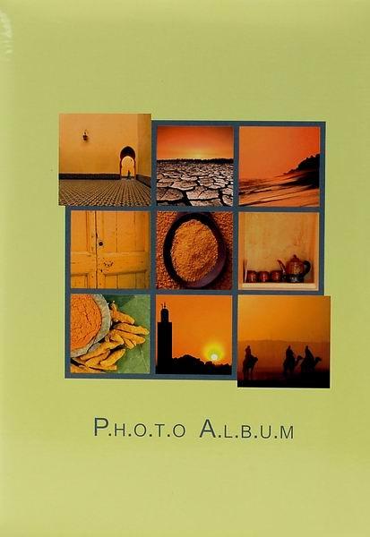 Fotoalbum 10x15 pro 200 fotek Summer vacat. žluté