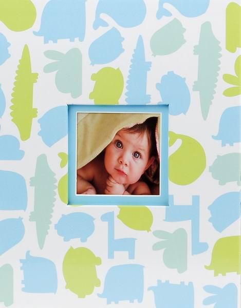 Album dětské 10x15 pro 304 fotek Dino modré