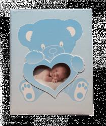 Album dětské 10x15 pro 200 fotek lepené Wonderland modré